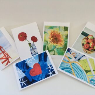 Paintings by Leslie Heffron, Fine Art Note Cards
