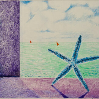 Paintings by Leslie, Dancing Sea Star