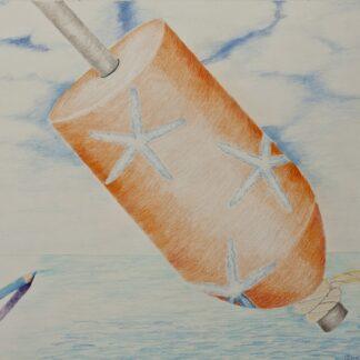 Paintings by Leslie Heffron, Dancing Sea Star