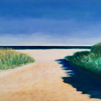 Paintings by Leslie Heffron, Good Harbor Beach