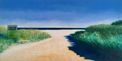 Paintings by Leslie Heffron, Good Harbor Beach