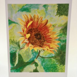 "Notecards by Leslie Heffron, ""Sunflower"""