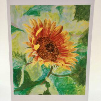 "Notecards by Leslie Heffron, ""Sunflower"""