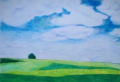 Paintings by Leslie Heffron, Maxatawny Field