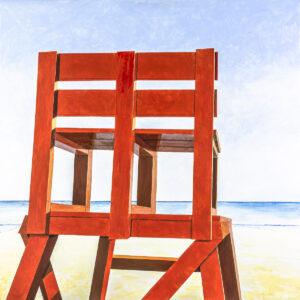 Front Beach Lifeguard Chair